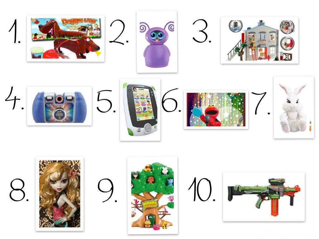 Best Toys 2012 : Top toys student parents